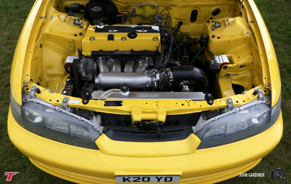 Matt's K Swap DC2. Recently Banzai featured and something of an internet sensation. This has to be seen in person to truly appreciate the effort which went into this build.