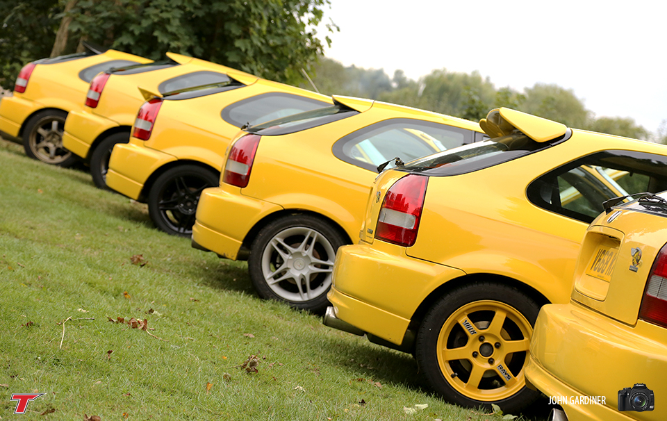 A fine selection of Jordan Civic's bringing some much needed brightness to the more gloomy part of Saturday.