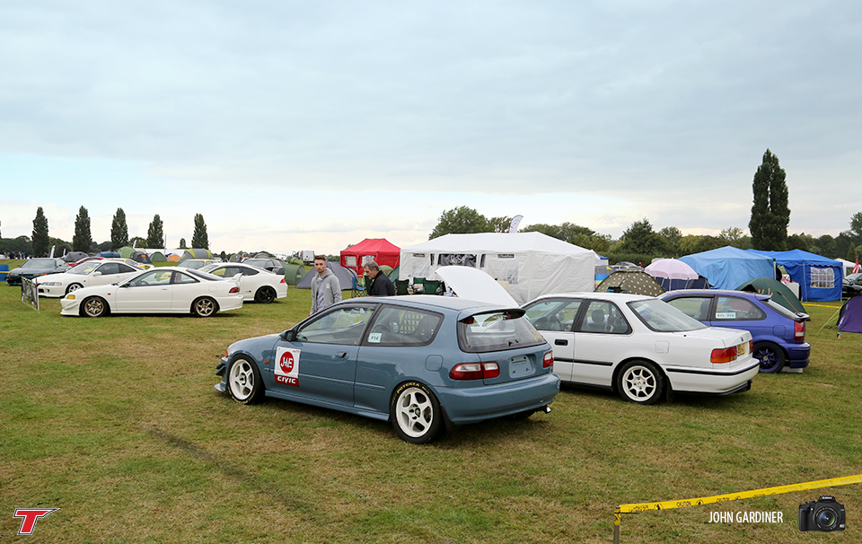 The 'Shoot All Ballers' Stand   was home to some impressive Jap metal for the weekend.