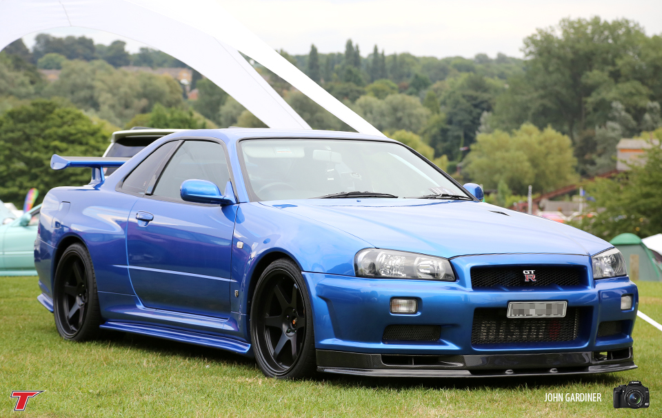 The Bayside Blue Skyline R34 GTR. To any real petrol head, this is a car on the list of dream cars to own. It is certainly on our list! Perfection.