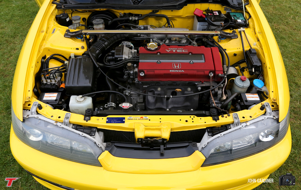 Phoenix Yellow DC2's are as rare as they come. This example was super clean and retained most of it's OEM parts.