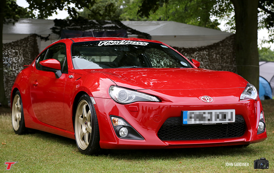 Final Boss GT86 rolling on Volk TE37's.