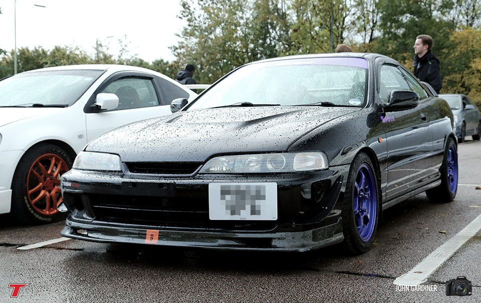 This DC2 featured colour coded purple Spoon decals and wheels.